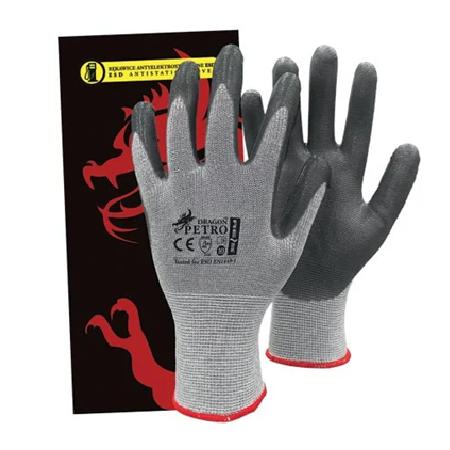 Антистатические перчатки ESD -PETRO SWS